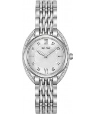 Bulova 96R212 Reloj de las señoras curv del diamante