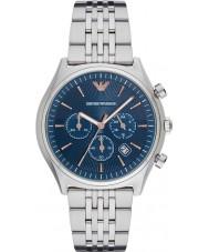 Emporio Armani AR1974 Para hombre viste el reloj pulsera de acero de plata
