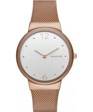 Skagen SKW2518 Señoras freja chapado en oro rosa malla de reloj