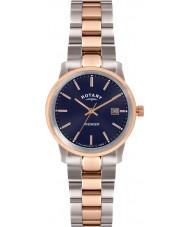 Rotary LB02737-05 Relojes de vengador dos tonos reloj rosa