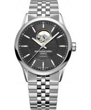 Raymond Weil 2710-ST-20021 reloj de pulsera de acero de plata para hombre independiente