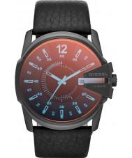 Diesel DZ1657 reloj de la correa de cuero negro jefe principal para hombre
