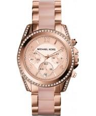 Michael Kors MK5943 Blair damas chapado en oro rosa reloj cronógrafo