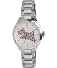 Radley RY4159 Damas de corte a través de la plata reloj pulsera perro