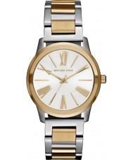 Michael Kors MK3521 Damas Hartman dos tonos reloj pulsera de acero