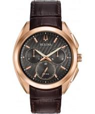 Bulova 97A124 Reloj progresivo del curv del vestido del Mens