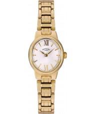 Rotary LB02748-01 Relojes de oro olivie reloj chapado
