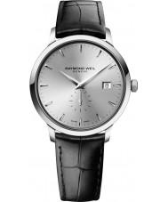 Raymond Weil 5484-STC-65001 Reloj para hombre de la correa de cuero negro tocata