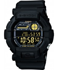 Casio GD-350-1BER reloj para hombre negro g-shock tiempo del mundo