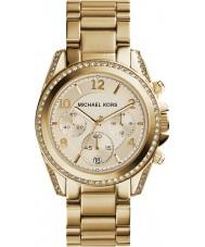 Michael Kors MK5166 Chapado en oro de las señoras reloj cronógrafo