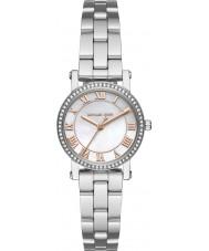 Michael Kors MK3557 Las señoras de plata Norie reloj de pulsera de acero