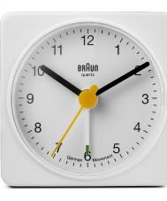 Braun BNC002WHWH despertador de la plaza - blanco