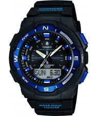 Casio SGW-500H-2BVER Para hombre colección brújula negro reloj combi