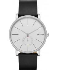 Skagen SKW6274 Mens Hagen cuero negro reloj de la correa