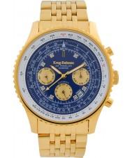 Krug-Baumen 600104DSA Reloj automático de diamantes para viajeros aéreos