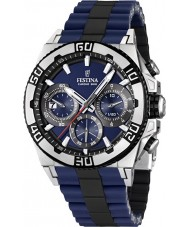 Festina F16659-2 bicicleta de crono para hombre 2013 reloj azul y negro