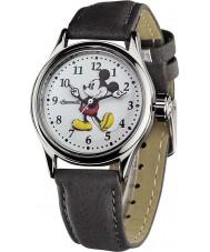Disney by Ingersoll 25570 Señoras del reloj de la correa de color gris nubuck Mickey Mouse clásico