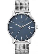 Skagen SKW6327 Mens Hagen acero de plata reloj pulsera de malla