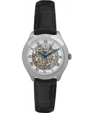 Rotary GS90508-02 Para hombre originales les jura reloj de plata esqueleto automática