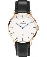 Daniel Wellington DW00100084 Para hombre pulcro Sheffield 38mm reloj de oro rosa
