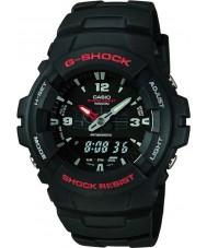 Casio G-100-1BVMUR reloj de la exhibición combinación g-choque para hombre