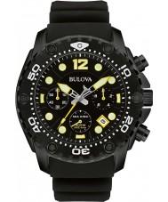 Bulova 98B243 Para hombre del rey de mar UHF reloj cronógrafo negro