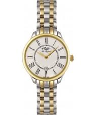 Rotary LB02916-06 Relojes de Elise reloj de oro de dos tonos