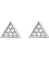 Thomas Sabo D-H0002-725-14 Las señoras glamour y alma de ley 925 aretes de plata diamante