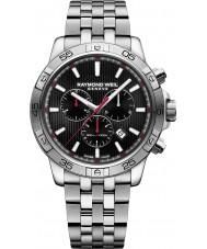 Raymond Weil 8560-ST2-20001 Mens tango reloj cronógrafo de acero de plata