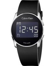 Calvin Klein K5B23TD1 de silicona futuro reloj digital negro