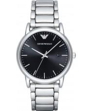 Emporio Armani AR2499 Para hombre viste el reloj pulsera de acero de plata
