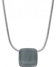 Skagen SKJ0868040 Señoras de vidrio del mar collar de acero de plata