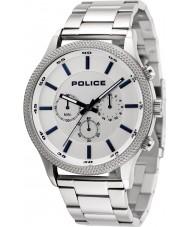 Police 15002JS-04M Mens reloj de ritmo