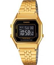 Casio LA680WEGA-1BER Colección de oro clásico reloj plateado