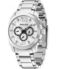 Police 13934JS-04M Mens triunfo reloj de acero de plata