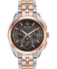 Bulova 98A160 Reloj progresivo del curv del vestido del Mens