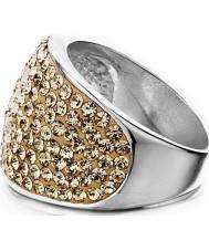 Shimla SH-085ML juego de damas piedra rosa anillo de oro - tamaño q