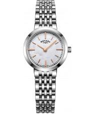 Rotary LB05060-07 Relojes de Canterbury reloj de plata brazalete de acero