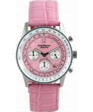 Krug-Baumen 400515DM Damas airmaster diamante rosa reloj todo