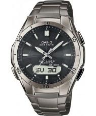 Casio WVA-M640TD-1AER Para hombre de la onda ceptor de titanio reloj alimentado por energía solar