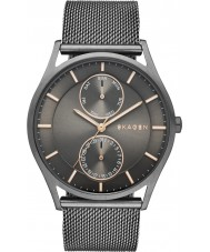 Skagen SKW6180 Reloj para hombre pulsera de malla de bronce de cañón Holst