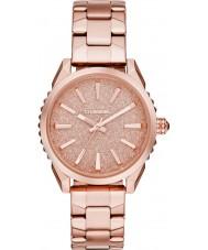 Diesel DZ5502 Damas nuki rosa reloj pulsera de acero de oro