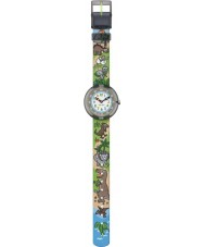 Flik Flak FBNP048 Niños sauruses reloj de retorno multicolor
