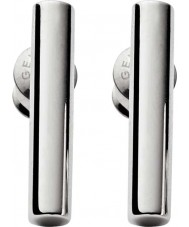 Skagen SKJ0891040 Amalie damas de acero pendientes de plata