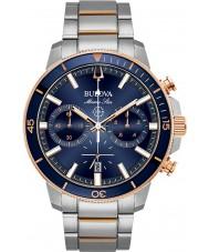 Bulova 98B301 Reloj de la estrella marina de los hombres