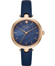 Kate Spade New York KSW1157 Holland damas de cuero azul del reloj de la correa