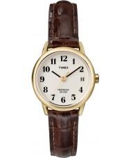Timex T20071 Las señoras de Brown fácil de relojes naturales lector