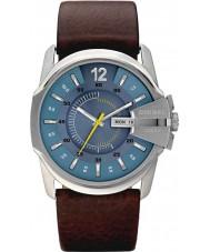 Diesel DZ1399 jefe principal del reloj para hombre marrón azul