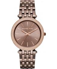 Michael Kors MK3416 Damas de bronce darci reloj de pulsera de acero