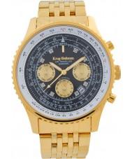 Krug-Baumen 600103DSA Reloj automático de diamantes para viajeros aéreos